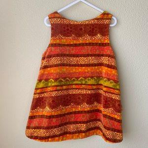 Other - KENZO jungle girls orange dress